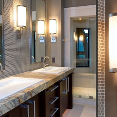 contemporary bathroom lighting and vanity lighting by Hammerton Lighting