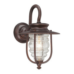 "The Great Outdoors - The Great Outdoors GO 72262 1 Light 17.5"" Height Outdoor Wall Sconce from the Sp - Single Light 17.5"" Height Outdoor Wall Sconce from the Spyglass Cove CollectionFeatures:"