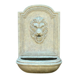 The Oxford Wall Fountain - The Oxford Wall Fountain is a centerpiece of serenity and beauty of nature for your garden or outdoor space. This fountain brings tranquility and serenity through its flowing sounds and a feeling of being one with nature.
