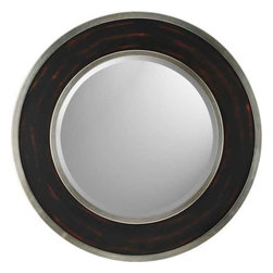 Paragon Art - Paragon Round Aged Brown/Silver - Round Aged Brown/Silver ,  Paragon Beveled Mirror       Mirror size is 22h x 22w. , Paragon has some of the finest designers in the home accessory industry. From industry veterans with an intimate knowledge of design, to new talent with an eye for the cutting edge, Paragon is poised to elevate wall decor to a new level of style.