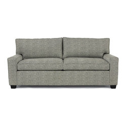 Mitchell Gold + Bob Williams - Alex Luxe Queen Sleeper Sofa - Small size, big style. Always be prepared to host guests, no matter how small your house or studio apartment. This compact modern couch boasts a hidden mattress that's cushy and comfortable, making it a perfect addition to smaller spaces.