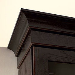 Contemporary Crown Molding - Crown Molding helps accentuate the style ...