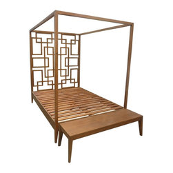 Custom 4 poster bed and bed bench - rlt
