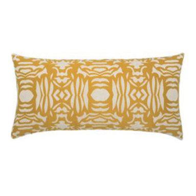 """New Elaine Smith Pillows - Kaleidoscope Golden Block - 12"""" x 24"""" Elaine Smith Pillows"""
