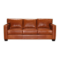 Murdoch - Modern Leather Sofas and Couches Collection - The Sofa Company - Perhaps our most timeless style, Murdoch offers simple lines to anchor any room; classic, modern or a more eclectic mix.