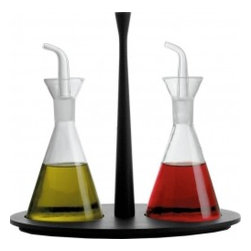 Colombina Oil and Vinegar Set By Alessi - This oil and vinegar set has more of a modern look, if that's your thing.