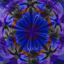 Not the Norm - a kaleidoscope of colors,swirls,and lines done in fractals.