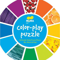 Chronicle Books - On Sale MoMA Color-Play Puzzle - MoMA Color-Play Puzzle