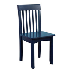 KidKraft - Avalon Chair - Blue by Kidkraft - Our heirloom-quality Avalon Chair is crafted form solid wood to endure rigorous use through childhood. Available in a variety of colors, mix and match the chairs for a customized look that enhances the decor of your child�s room.