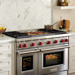 """Wolf 48"""" Pro-style Gas Range, Stainless Steel 