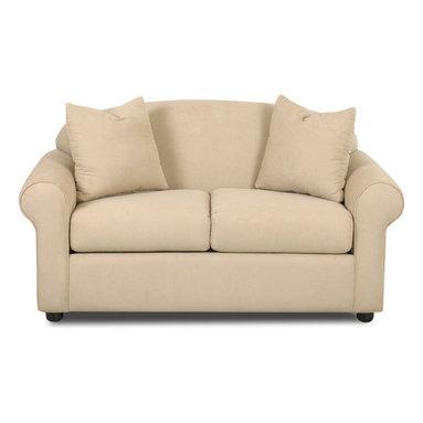 Savvy - Chicago Twin Sleeper Sofa, Fastlane Oatmeal, Twin Sleeper, Dreamsleeper Mattress - Chicago Twin Sleeper Sofa in Fastlane Oatmeal