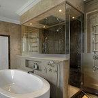 Frameless Glass Shower Enclosure - Custom fully frameless shower enclosure.