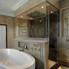 Contemporary Showerheads And Body Sprays by ATM Mirror and Glass