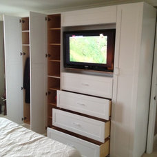 Traditional Closet by General Hardwoods & Millwork, Inc.