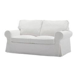 IKEA of Sweden - EKTORP Loveseat - Loveseat, Blekinge white