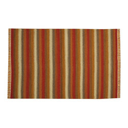 Hand Woven Colorful Durie Kilim Flat Weave 4'x6' 100% Wool Oriental Rug SH15661 - Soumaks & Kilims are prominent Flat Woven Rugs.  Flat Woven Rugs are made by weaving wool onto a foundation of cotton warps on the loom.  The unique trait about these thin rugs is that they're reversible.  Pillows and Blankets can be made from Soumas & Kilims.