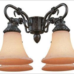 Savoy House - Savoy House-FLGC-501-56-Ceiling Fan Light Kit - Light Kit for The Villamoura Fan