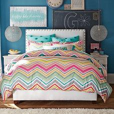 Raleigh Zig Zag Bedroom | PBteen