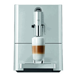 Jura Capresso - Jura Capresso ENA Micro 9 One Touch Super Automatic Espresso Machine - Good things come in small packages; great ones come in even smaller packages! Here now is the world's smallest Super-Automatic Cappuccino Machine, the Jura-Capresso ENA Micro 9 One-Touch. The Micro 9 is 11% shorter than the preceding compact ENA line. This beautifully crafted machine in its Micro Silver color scheme with stainless steel bright work and elegant curved corners not only reflects the best of style, but also Swiss engineering excellence.