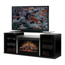 """Dimplex North America - Marana 75"""" Electric Fireplace Media Console - *Flame technology Our patented flame technology creates a truly realistic fireplace, giving the fire its depth and dancing flame that you will only find with Dimplex."""