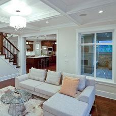 Contemporary Living Room by Sublime Interior Design