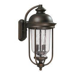 Capital Lighting - Capital Lighting 9582OB York 2 Light Outdoor Wall Sconce - Beginning with design concepts from popular home fashions, they transform their ideas into lighting fixtures that blend timeless beauty with today's styling.