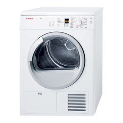 "Bosch Axxis Series 24"" Compact Condensation Dryer, White 