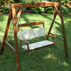 Traditional Outdoor Swingsets by hammockcompany.com