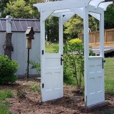 Repurpose An Old Door to Spruce up your Garden 2c300_DoorArborBackView609 – Desi