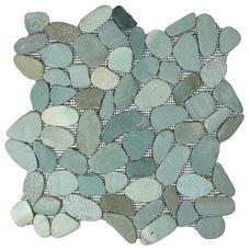 Contemporary Tile by Pebble Tile Shop
