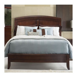 "Modus - Brighton Panel Bed - The Brighton Collection's case goods are crafted from Tropical Mahogany and Cherry Veneers and feature a refined American finish in a deep, vibrant Cinnamon. This collection will fill your bedroom with splendor and luxury. Features: -Elegant reverse diamond shaped veneer pattern draws attention to the headboard.-Gently crowned headboard and bead molding meld transitional and contemporary design elements.-Sophisticated transitional design.-Powder Coated Finish: No.-Gloss Finish: No.-Finish: Cinnamon.-Non Toxic: No.-Scratch Resistant: No.-Mattress Included: No.-Headboard Storage: No.-Footboard Storage: No.-Underbed Storage: No.-Slats Required: Yes -Slats Included: Yes..-Center Support Legs: Yes.-Adjustable Headboard Height: No.-Adjustable Footboard Height: No.-Wingback: No.-Trundle Bed Included: No.-Attached Nightstand: No.-Cable Management: No.-Built in Outlets: No.-Lighted Headboard: No.-Distressed: No.-Bed Rails Included: Yes.-Collection: Brighton.-Eco-Friendly: No.-Recycled Content: No.-Canopy Frame: No.-Jewelry Compartment: No.-Swatch Available: No.Specifications: -FSC Certified: No.-EPP Compliant: No.-CPSIA or CPSC Compliant: No.-CARB Compliant: No.-JPMA Certified: No.-ASTM Certified: No.-ISTA 3A Certified: No.-PEFC Certified: No.-General Conformity Certificate: No.-Green Guard Certified: No.Dimensions: -Overall Height - Top to Bottom (Size: California King): 58"".-Overall Height - Top to Bottom (Size: Full): 58"".-Overall Height - Top to Bottom (Size: King): 58"".-Overall Height - Top to Bottom (Size: Queen): 58"".-Overall Height - Top to Bottom (Size: Twin): 58"".-Overall Width - Side to Side (Size: California King): 75"".-Overall Width - Side to Side (Size: Full): 57"".-Overall Width - Side to Side (Size: King): 79"".-Overall Width - Side to Side (Size: Queen): 63"".-Overall Width - Side to Side (Size: Twin): 42"".-Overall Depth - Front to Back (Size: California King): 95"".-Overall Depth - Front to Back (Size: Full): 87"".-Overall Depth - Front to Back (Size: King): 92"".-Overall Depth - Front to Back (Size: Queen): 92"".-Overall Depth - Front to Back (Size: Twin): 87"".-Overall Product Weight (Size: California King): 163 lbs.-Overall Product Weight (Size: Full): 108 lbs.-Overall Product Weight (Size: King): 163 lbs.-Overall Product Weight (Size: Queen): 139 lbs.-Overall Product Weight (Size: Twin): 89 lbs.Assembly: -Metal to metal bed rail fittings for easy assembly and long term durability.-Assembly Required: Yes.-Additional Parts Required: No.Warranty: -Product Warranty: 1 Year."