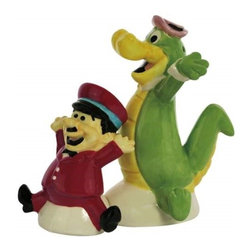 Westland - 3.75 Inch Wally Gator and Mr. Twiddle Dancing Salt and Pepper Shakers - This gorgeous 3.75 Inch Wally Gator and Mr. Twiddle Dancing Salt and Pepper Shakers has the finest details and highest quality you will find anywhere! 3.75 Inch Wally Gator and Mr. Twiddle Dancing Salt and Pepper Shakers is truly remarkable.
