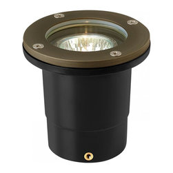 Hinkley - Hinkley Hardy Island Accent One Light Matte Bronze Well Light - 16701MZ - This One Light Well Light is part of the Hardy Island Accent Collection and has a Matte Bronze Finish. It is Outdoor Capable.