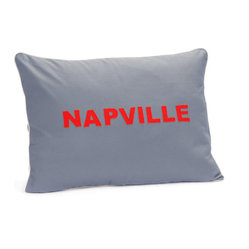 WAGGO Napville Dog Bed in Grey Sky