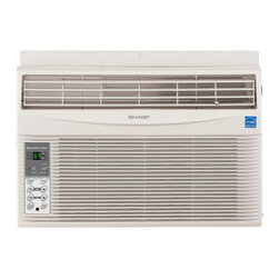 Sharp - Sharp AFS60RX Energy Star 6,000 BTU 115-Volt Window-Mounted Air Conditioner with - The Sharp AFS60RX 6,000 BTU 115-Volt Window-Mounted Air Conditioner provides cool comfort all summer long for rooms 145 to 250 square feet. Sharp's Comfort Touch controls have a 24-hour on/off timer and one-degree temperature control increments eliminating temperature guesswork. The Rest Easy remote control enables you to turn the unit on or off, adjust the temperature, change the fan speed and set the timer all with the touch of a button from across the room. With 3 cooling speeds, 3 fan speeds and 4-way air direction, you choose how to cool your room. Auto-cool adjusts the fan speed from powerful cooling when the demand is high to quiet comfort when the demand is low. When the optimal temperature is met, the fan and compressor stops with the energy saver mode. Sleek and stylish, Sharp's air conditioner will fit into your home design beautifully, saving you energy and enhancing your decor.6,000 BTU 115-volt window-mounted air conditioner|Cools area from 145 to 250 square feet|Dehumidification 1.3 pints per hour|User-friendly Comfort Touch controls include one-degree temperature control increments|Rest Easy remote enables you to turn the unit on or off, adjust the temperature, change the fan speed and set the timer from across the room|3 cooling speeds and 3 fan speeds for more cooling flexibility|Programmable 24-hour on/off timer cools on your schedule|Auto-cool feature adjusts the fan speed from powerful cooling when the demand is high to quiet comfort when the demand is low|Energy saver mode stops the fan and compressor when the optimal temperature is reached|Adjustable 4-way air direction lets you direct the cool air where you want it most|  sharp| af-s60rx| afs60rx| cool| cooling| window| air| conditioner| a/c| ac| 6000| 6|000| btu| comfort-touch| comfort| touch| rest-easy| rest| easy  Package Contents: air conditioner|remote control|2 AAA batteries|window installation kit|installation instructions/manual|warranty  This item cannot be shipped to APO/FPO addresses  Sharp will no longer take back any Sharp product as a DOA.� This includes, TV, A/V Products, and any Sharp Appliances.� Please call Sharp at 1-800-BESHARP for service details.� We will not be able to accept DOA returns on this item.� Please accept our apologies.