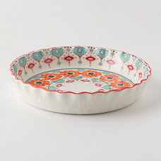 eclectic pie and tart pans by Anthropologie