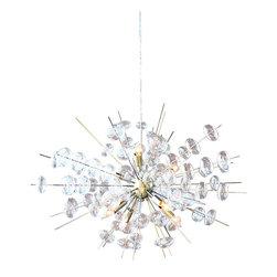 Solaria Lighting - Bubbles Antique Brass Chandelier - Finish: Antique Brass