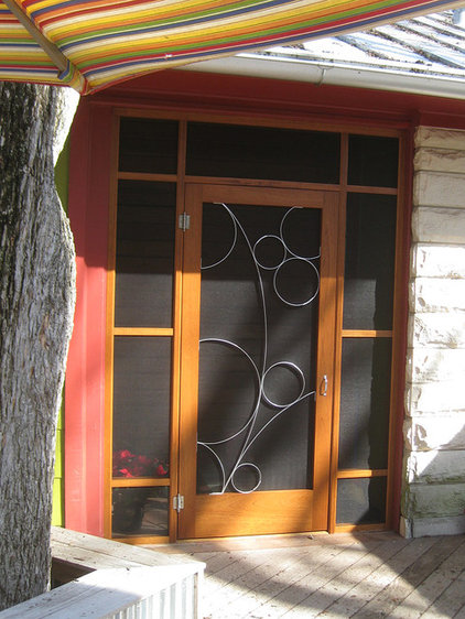 Modern Screen Doors by Susan Wallace