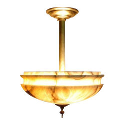 EuroLux Home - New 16-Inch Ceiling Fixture Bronze - Product Details
