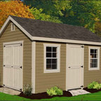 Fifthroom - Deluxe Estate Shed with Vinyl Siding -