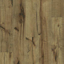 Laminate for Life Sugar Mill in Amberfield Hickory - The authentic look you want in hardwood and ceramic tile with easy convenience and maintenance makes Laminate for Life™ flooring attractive for your busy lifestyle.