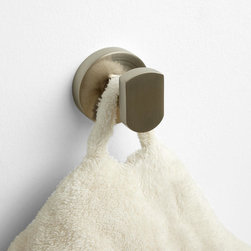 Rotunda Robe Hook - The Rotunda Robe Hook lets you hang garments without a snag, thanks to smooth shaping and durable solid brass construction.