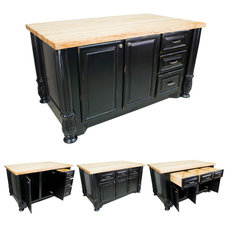 Modern Kitchen Islands And Kitchen Carts by Knobs and Beyond