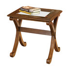 Standard Furniture - Standard Furniture Madrid End Table in Golden Brown Cherry - Standard Furniture - End Tables - 22842 - About This Product: