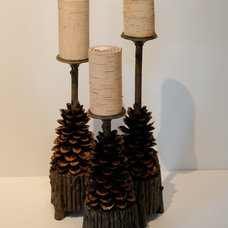 Rustic Candles And Candle Holders by Urban Rustic Living