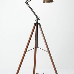 Architect Tripod Lamp - This little cutie from Anthropologie gives off a bit of an industrial feel without being overly heavy or serious. It would be perfect over your favorite reading chair.
