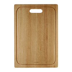 "Houzer - Houzer CB-4500 Cutting Board 14"" x 20.25"" x  0.75""T - Houzer hardwood kitchen accessory Cutting Board FOR EPS-3000, EPG-3300, EPO-3370"
