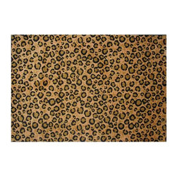 Fun Rugs - Supreme - Leopard Skin Kids Rugs - 63 x 90 in. - Your child's room is a natural extension of them. Add these innovative designs from LA Rug to spruce up any child's decor.