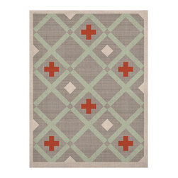 "Kess InHouse - Pellerina Design ""Mint Lattice Weave"" Gray Mint Naturals Canvas (20"" x 24"") - Display your favorite KESS Naturals Canvas with organic elegance. KESS InHouse is proud to feature our entire artist gallery as the KESS Naturals collection. These unique artworks are recreated on a recycled burlap using only eco-friendly inks. They have a rustic fabric feel that we suggest framing without glass to fully convey the luxe texture of these prints. This eco-friendly material has been used by artists for centuries as an alternative to canvas. Upon ordering you will receive the artwork frameless to give you the best possible shipping and framing flexibility."