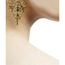Rococo earrings available only at Pernia's Pop Up Shop.